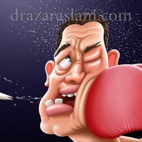 درمان ضربه های دندانی با روت کانال تراپی